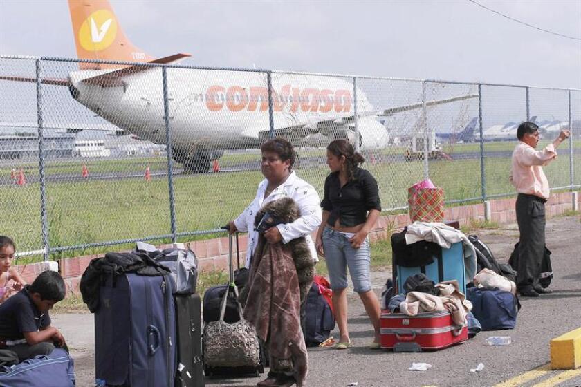 Esta es la primera vez que Nicaragua y Venezuela establecen una ruta comercial directa. EFE/Archivo