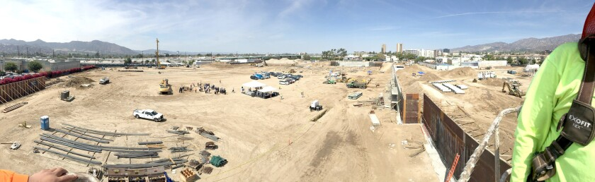 Panorama view of new IKEA location