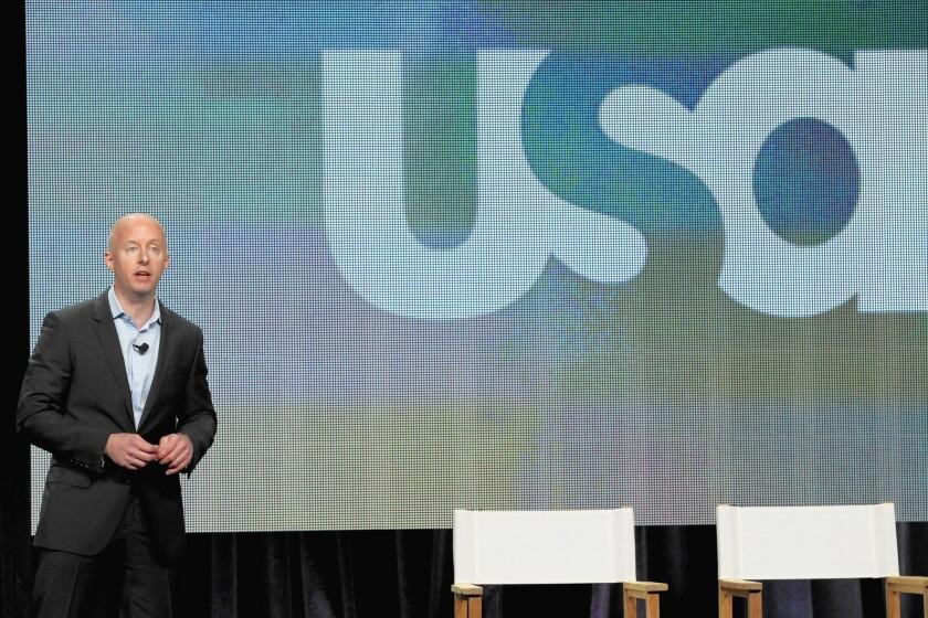 USA Network President Chris McCumber