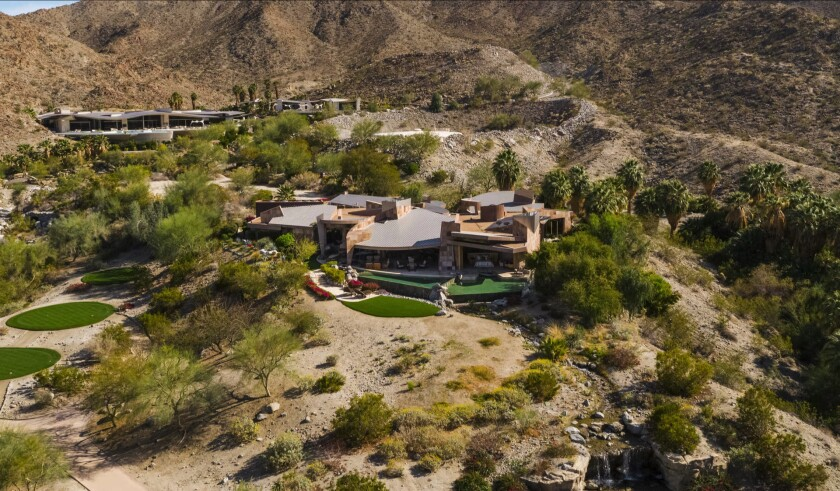 Palm Desert home of Jerry Weintraub