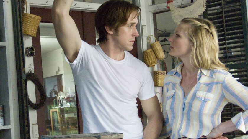 Ryan Gosling and Kirsten Dunst in in the movie ALL GOOD THINGS, a Magnolia Pictures release. Photo c