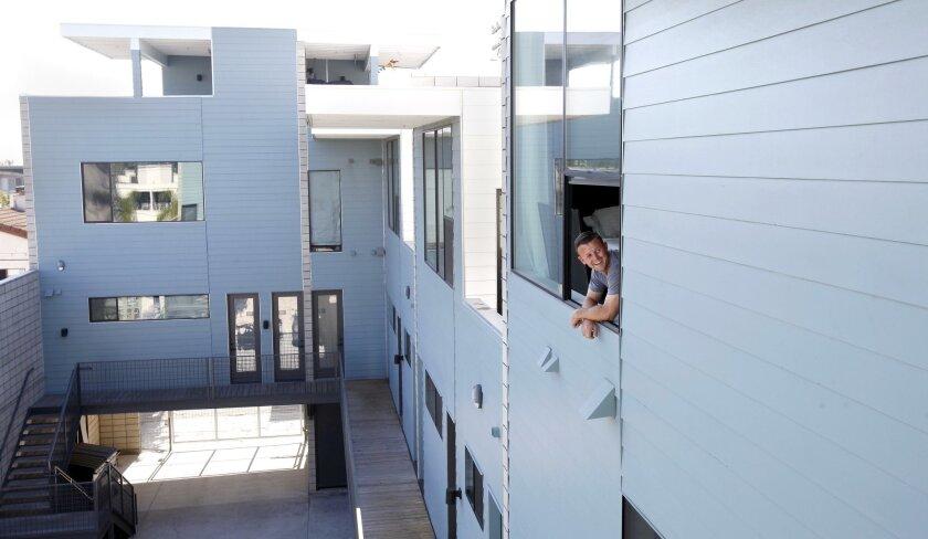 Ramon Astamendi at North 30 apartment project on 30th St.