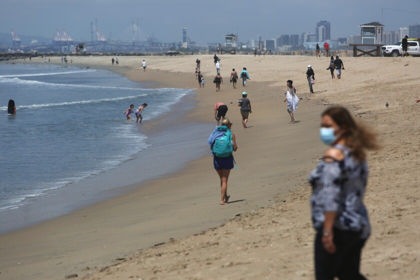 Seal Beach has reopened its shores to active use during daylight hours Monday through Thursday.