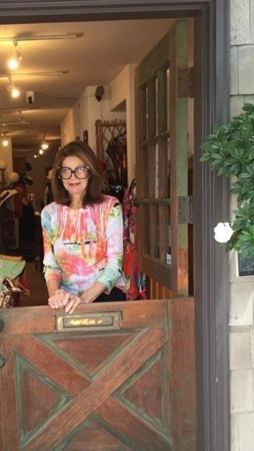 Myrna Naegle, owner of the Shoppe at 2210 in La Jolla Shores, will close the business by late August.