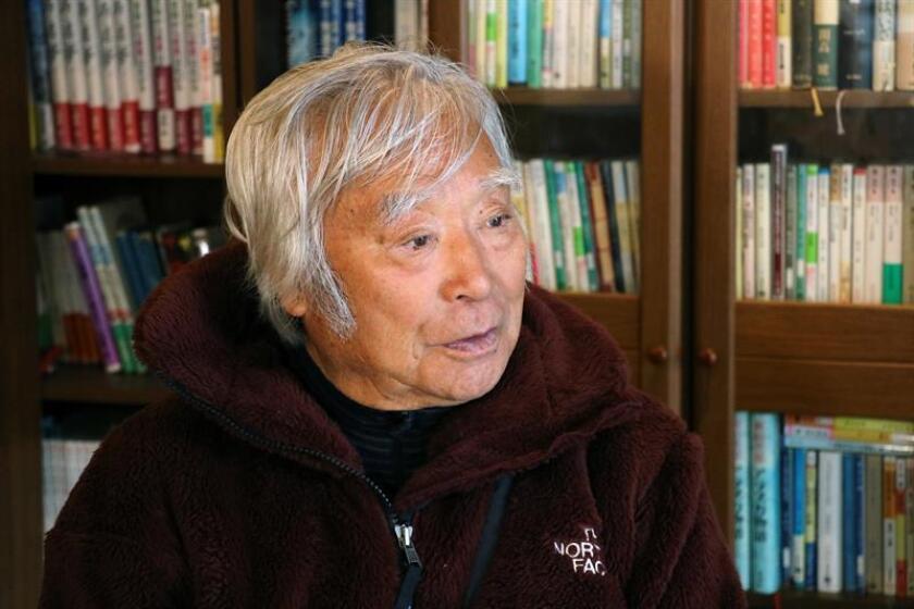 El japonés Yuichiro Miura, 86 años. EFE/Archivo