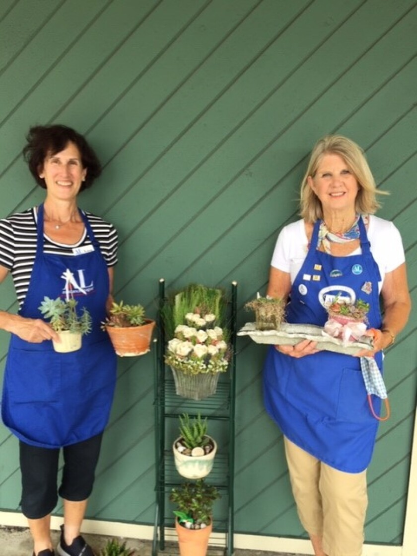 ALRSD volunteers Lisa Zimnowodzki and Linda Kermott
