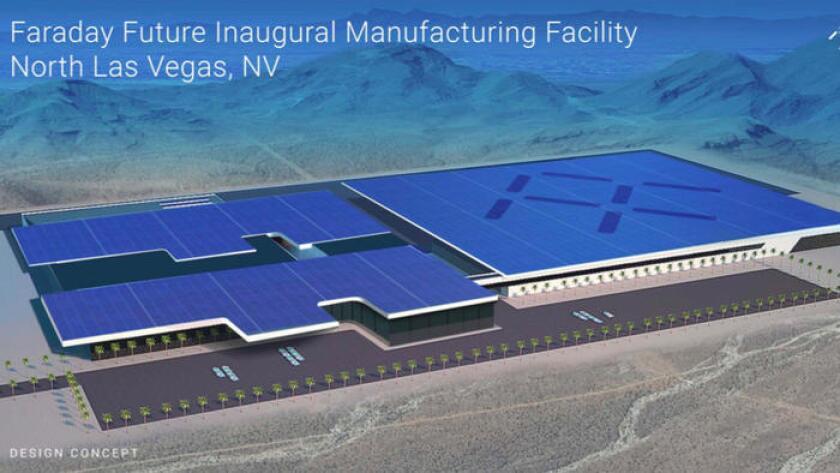 Faraday Future proposed factory