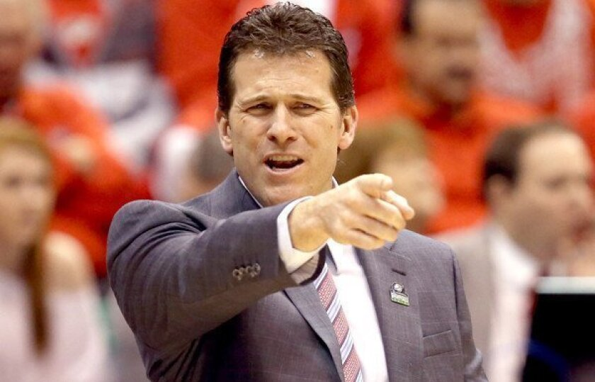 Steve Alford led New Mexico to three appearances in the NCAA tournament.
