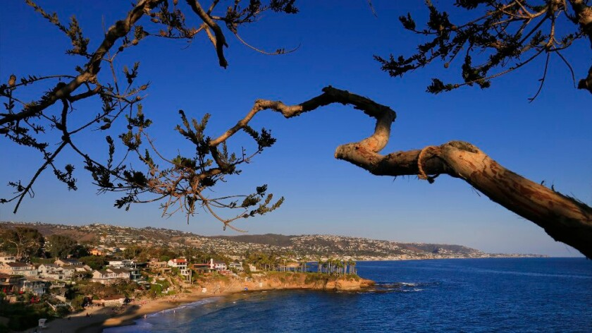 A view of Laguna Beach