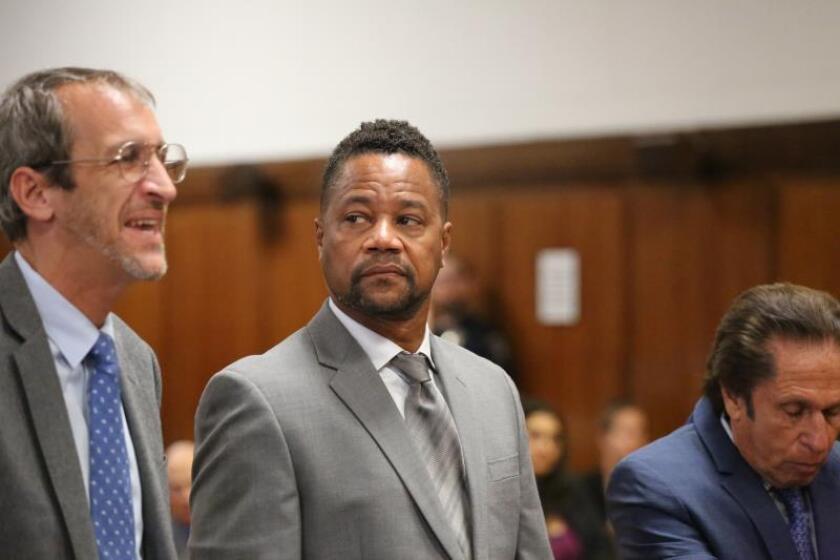 Posponen juicio contra actor Cuba Gooding Jr, acusado de manosear a una mujer