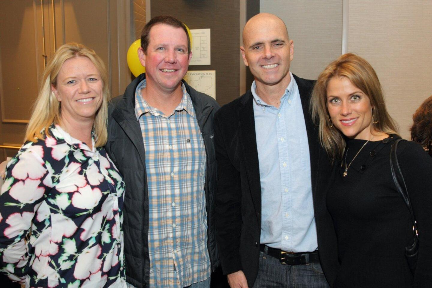 Janicke and Chad Swanson, Chris and Amy Rosskopf