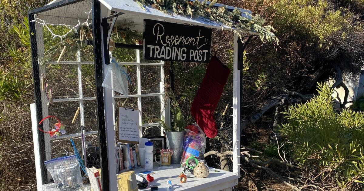 Rosemont Street mystery: 'Trading post' appears along La Jolla Bike Path - La Jolla Light