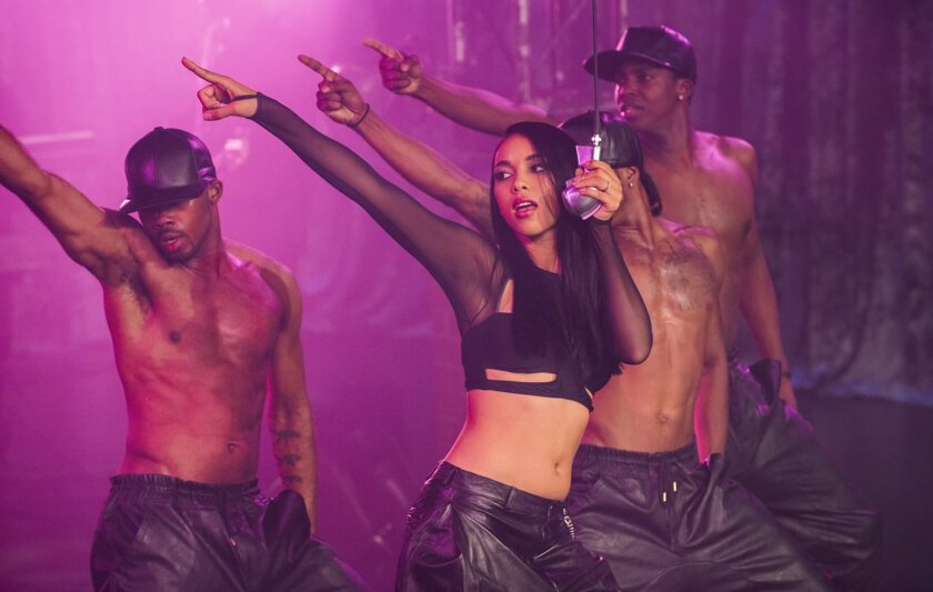 """Alexandra Shipp stars as Aaliyah in the Lifetime original movie """"Aaliyah: The Princess of R&B,"""" about the beloved singer and rising actress who died at the peak of fame in a 2001 plane crash."""