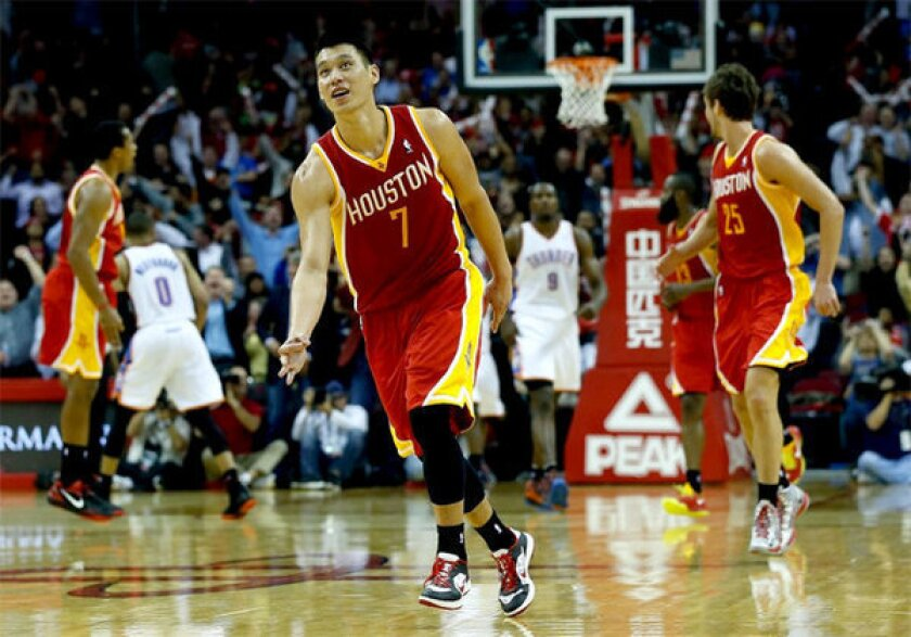 Houston's Jeremy Lin has hit up the Lakers for 28 points in three meetings this season. However, L.A. has limited his production to five points and four points in their last two encounters.