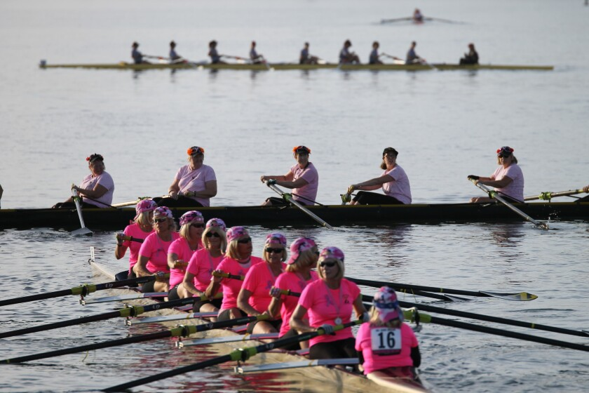 Row for the Cure.