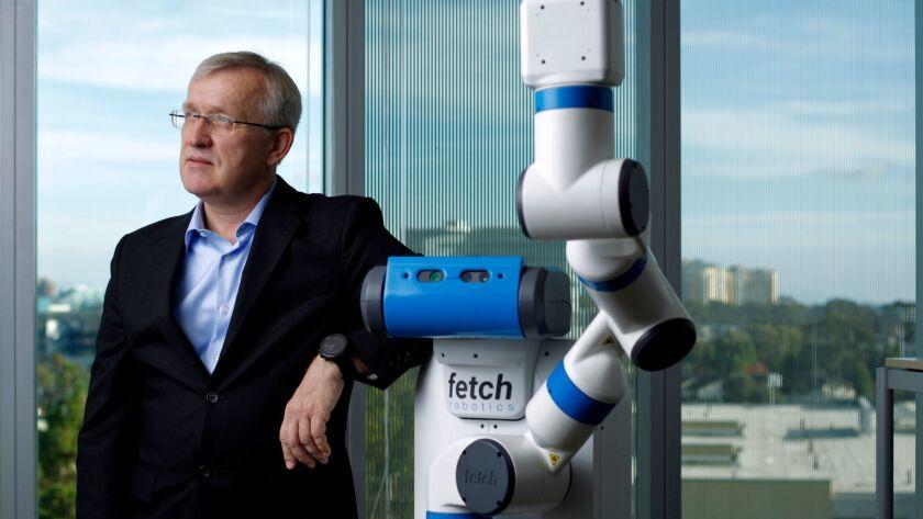 Henrik Christensen, director of UC San Diego's Contextual Robotics Institute.