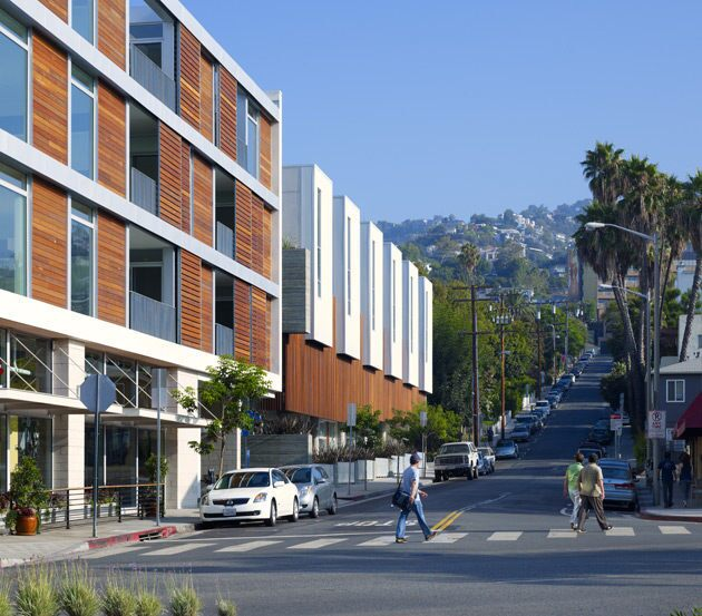 The American Institute of Architects announced winners of its 2011 housing awards on March 17. The judging panel recognized more than a dozen single- and multifamily designs across the country. Here is a look at some of the winners, starting with Hancock mixed-use complex in West Hollywood by Koning Eizenberg Architecture.