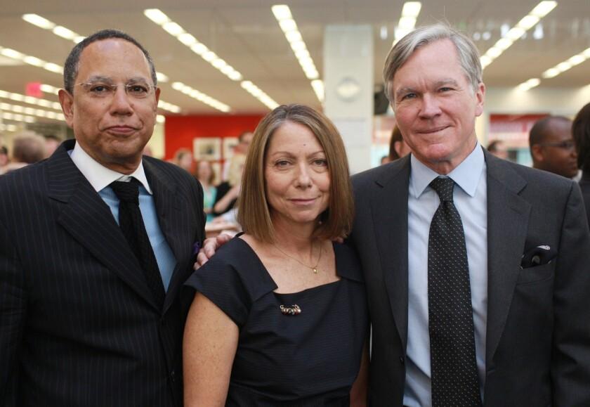 Jill Abramson, Bill Keller, Dean Baquet
