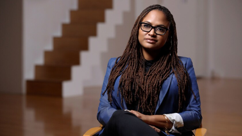 """Ava DuVernay in the documentary """"Half the Picture."""""""