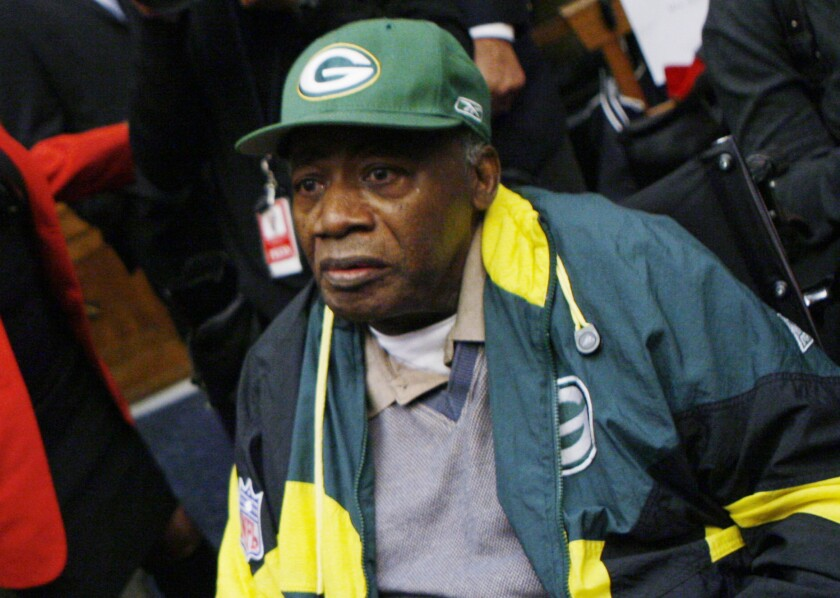 Former USC quarterback and Green Bay Packers safety Willie Wood died Monday at age 83.