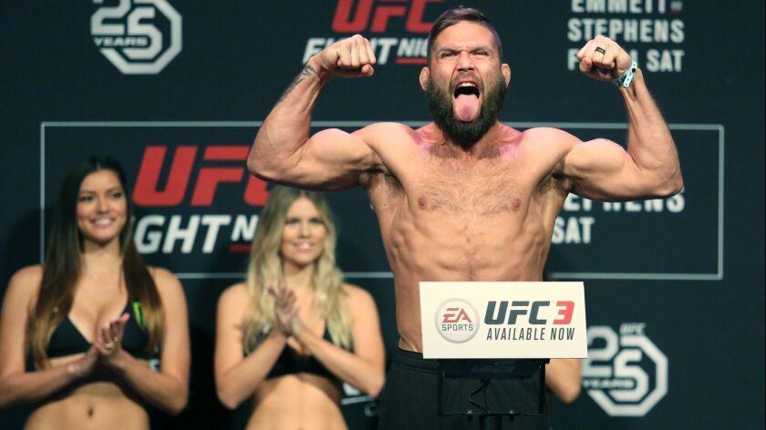 UFC Fight Night Weigh Ins
