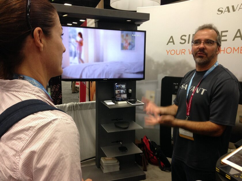 Danny Thompson explains Savant Systems' new tablet-based control system for indoor and outdoor appliances and fixtures.