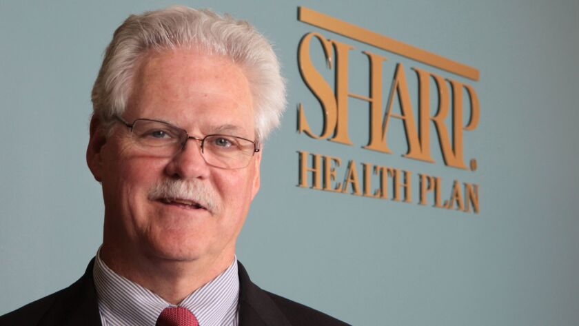 Michael Murphy, president and chief executive of Sharp HealthCare.