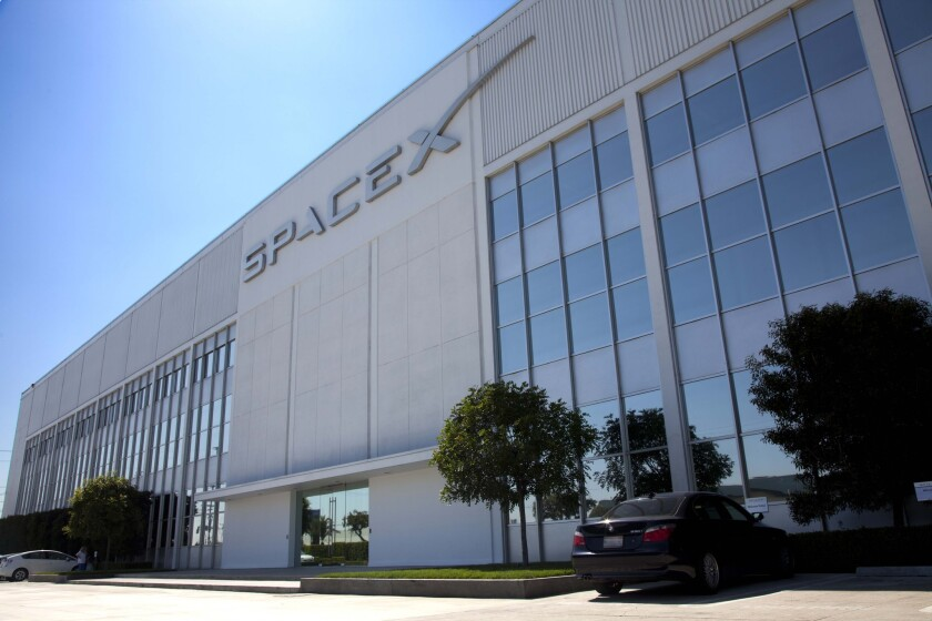 Chambers Street Properties of New Jersey bought the Hawthorne building that is home to SpaceX.