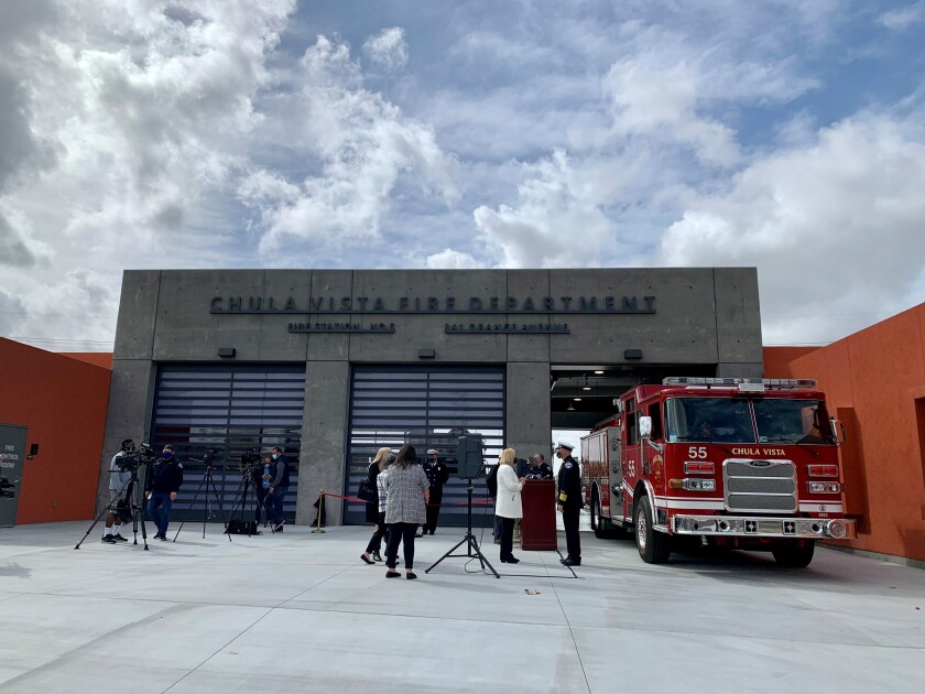 Chula Vista Fire Station 5 (pictured) opened its new doors on 341 Orange Avenue on March 25. The second one opened April 29.