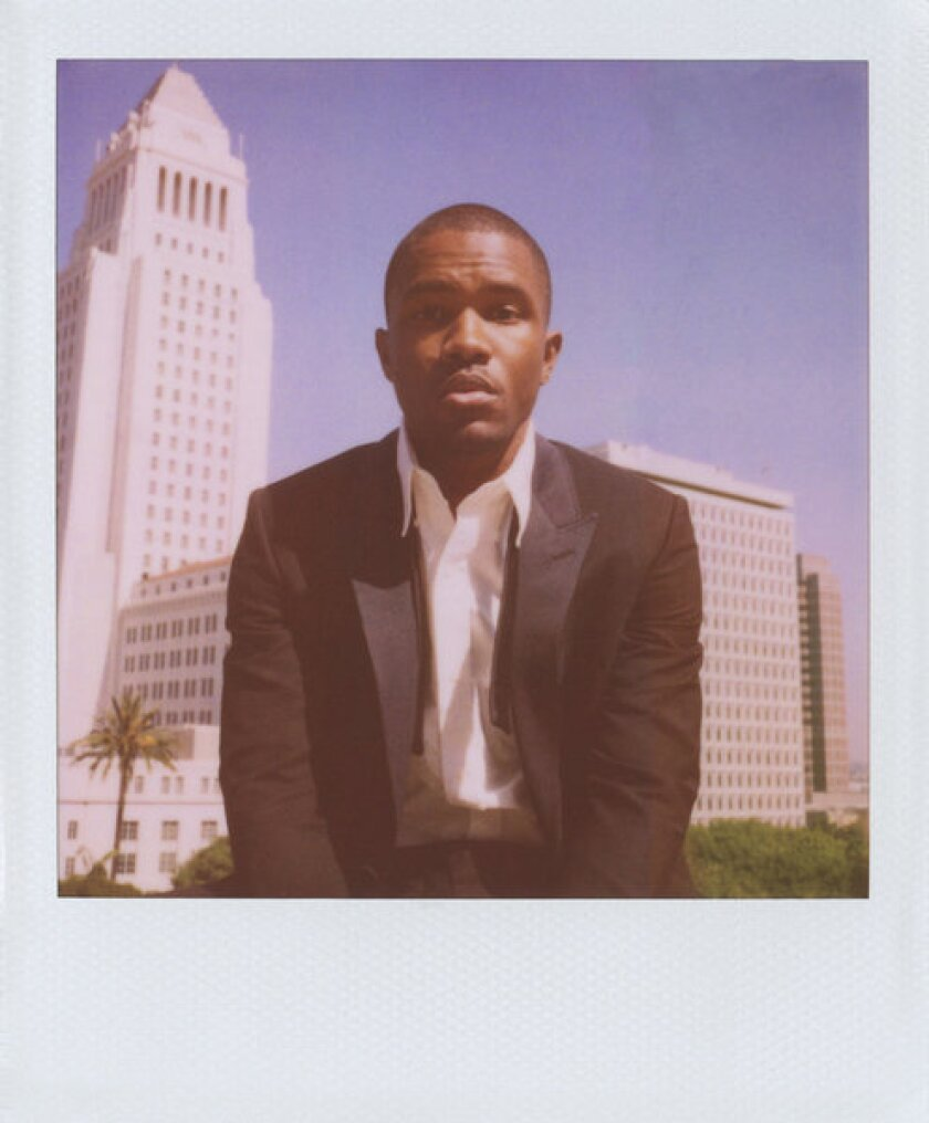 Frank Ocean is featured in Band of Outsiders' ad campaign
