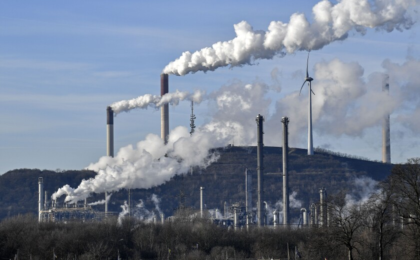 Coal-fired power plant in Germany
