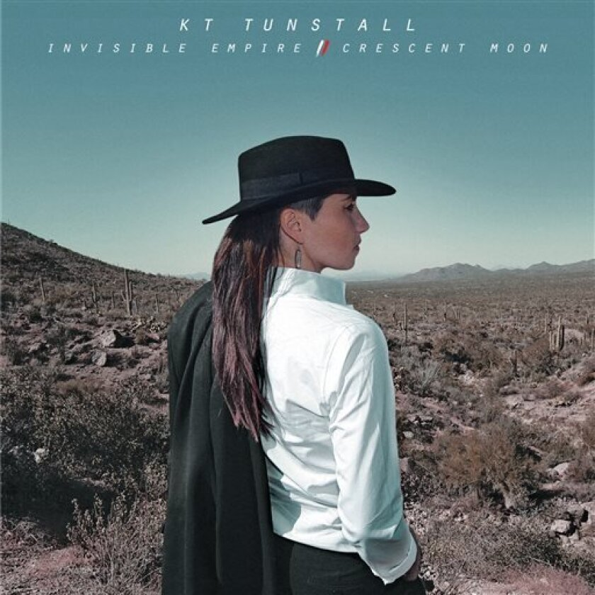 "This CD cover image released by Blue Note Records shows ""Invisible Empire/Crescent Moon,"" the latest album by KT Tunstall. (AP Photo/Blue Note Records)"