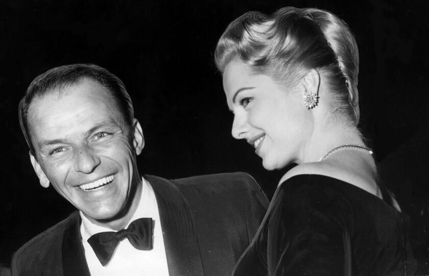 Frank Sinatra and Martha Hyer