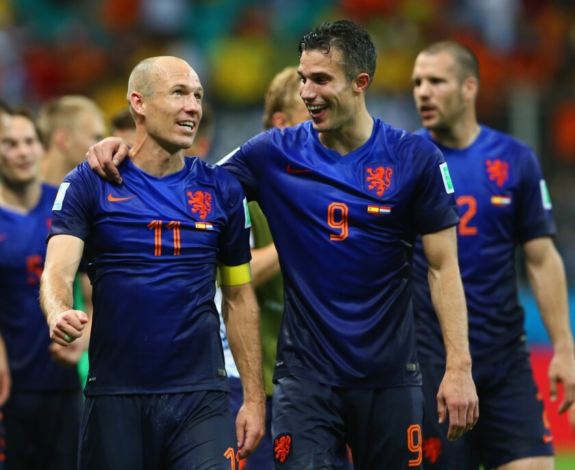Victory for Netherlands