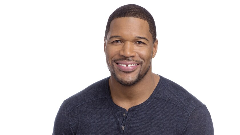 Michael Strahan talks about fitness