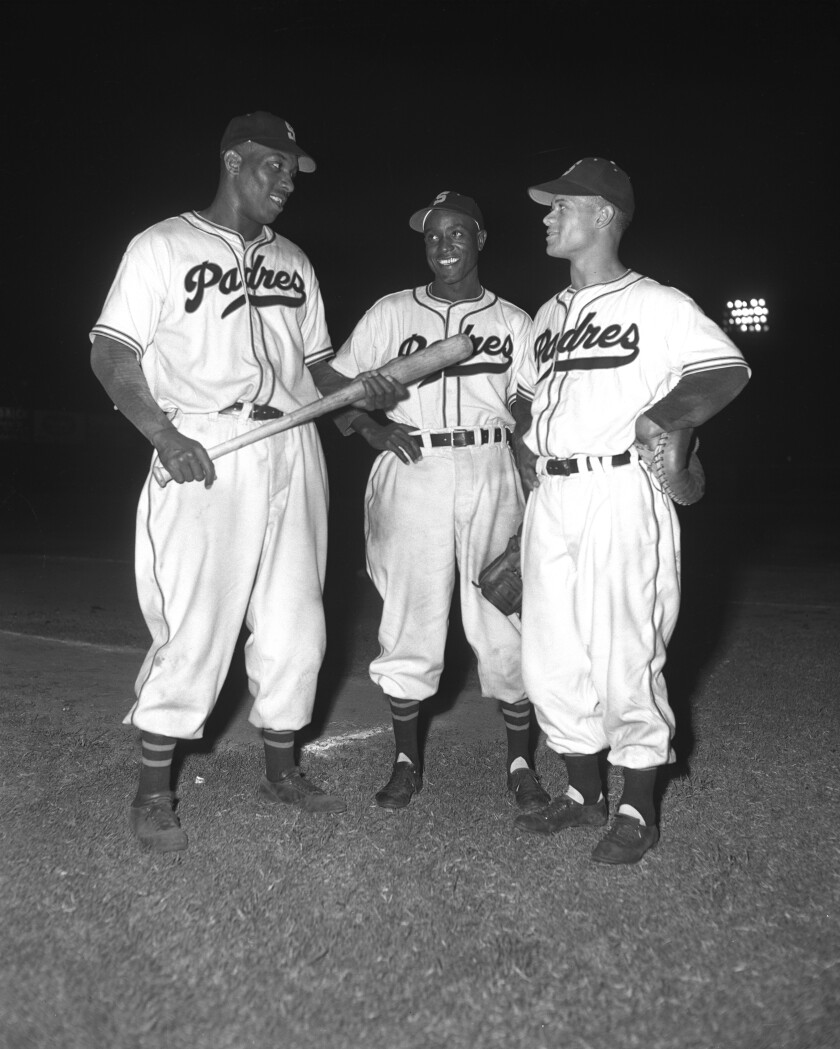 1948 JOHNNY RITCHEY IS THE FIRST AFRICAN AMERICAN BASEBALL PLAYER TO JOIN THE SAN DIEGO PADRES