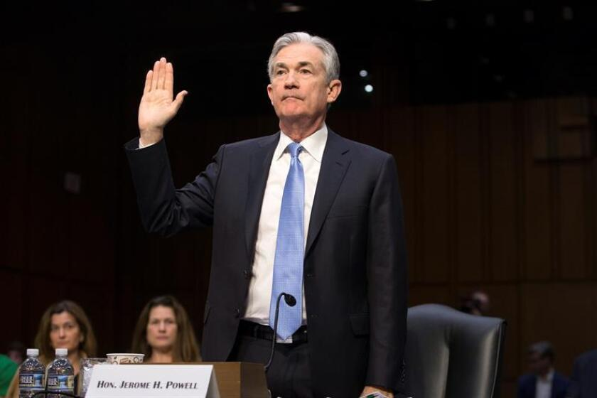 El nominado del presidente Donald Trump para dirigir la Reserva Federal de EEUU, Jerome Powell. EFE/Archivo