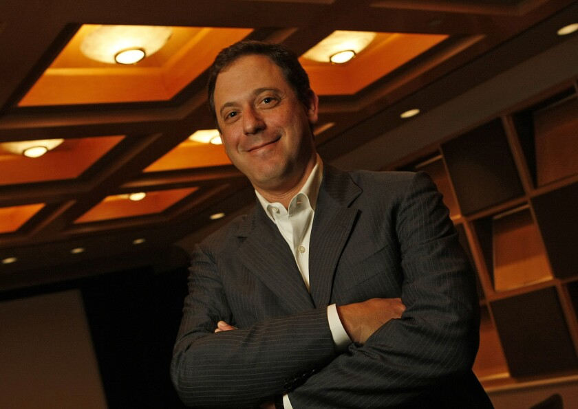 Adam Fogelson, former chairman of Universal Pictures, will run the movie division of the new film and television studio founded by producer Robert Simonds.