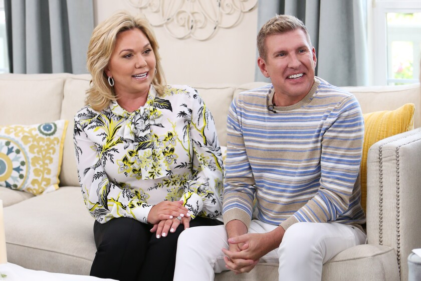 Todd Chrisley and Julie Chrisley