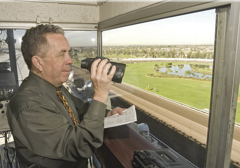 Longtime Los Alamitos race caller Ed Burgart is retiring from the job, at least on a full-time basis, after the Two Million Futurity on Sunday.