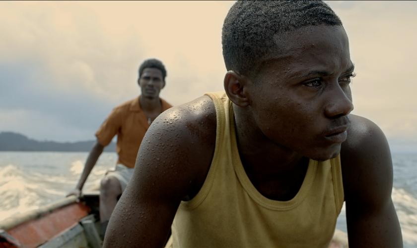 Una escena de la producción colombia y estadounidense que se ha lanzado en salas locales.