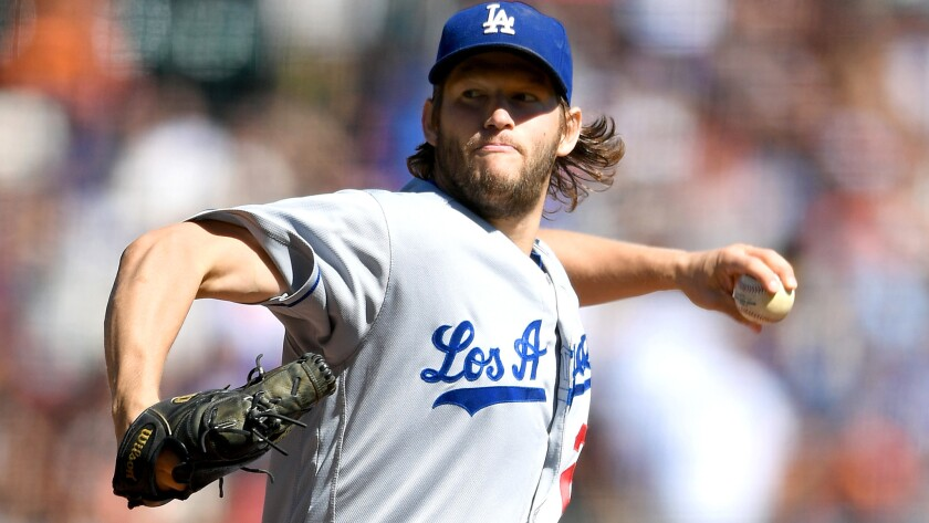 Dodgers starter Clayton Kershaw is 1-2 in postseason games on short rest, giving up four earned runs and striking out 23.