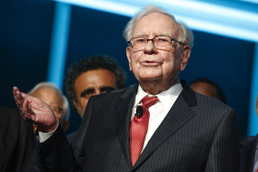 Warren Buffett's company, Berkshire Hathaway, said Tuesday, Oct. 3, that it is acquiring a major stake in Pilot Flying J truck stops and it will become a majority owner within about five years.