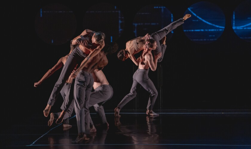 """Invertigo Dance Theatre performs """"Formulae & Fairy Tales,"""" inspired by the life of Alan Turing"""