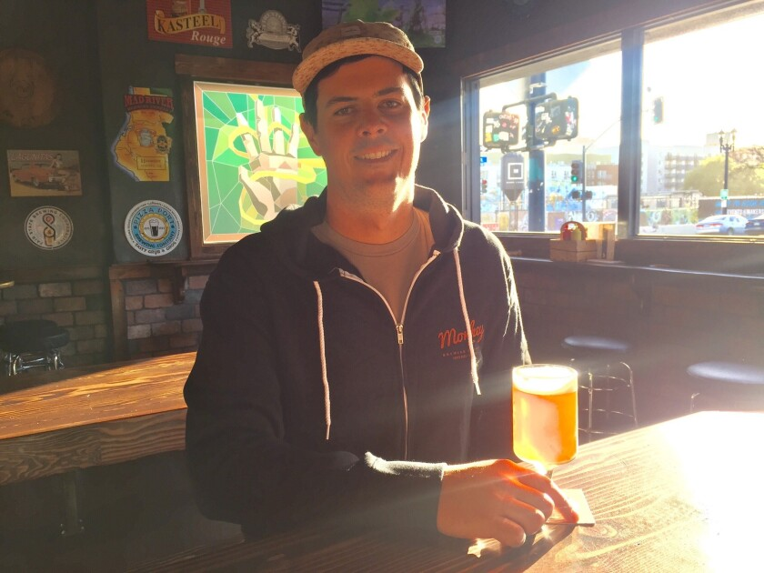 Nick Norton, head brewer at Monkey Paw Brewing Co.