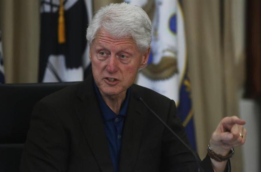 El expresidente de los Estados Unidos, Bill Clinton, habla en un evento. EFE/Archivo