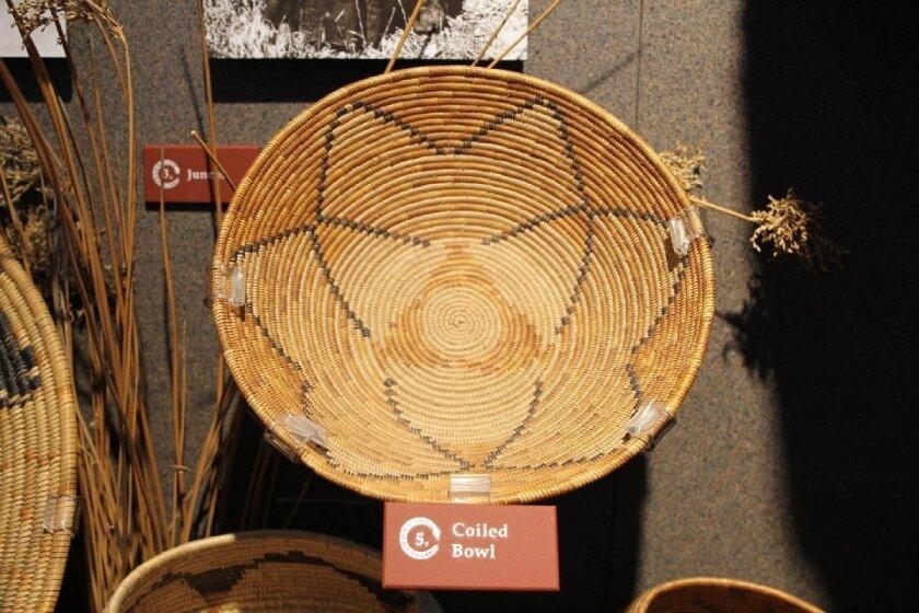Kumeyaay traditional bowl