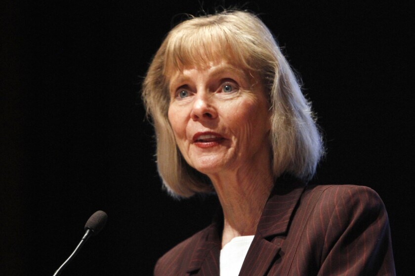 Democratic Rep. Lois Capps of Santa Barbara, seen in a 2011 photo, announced April 8 that she will retire in 2016.