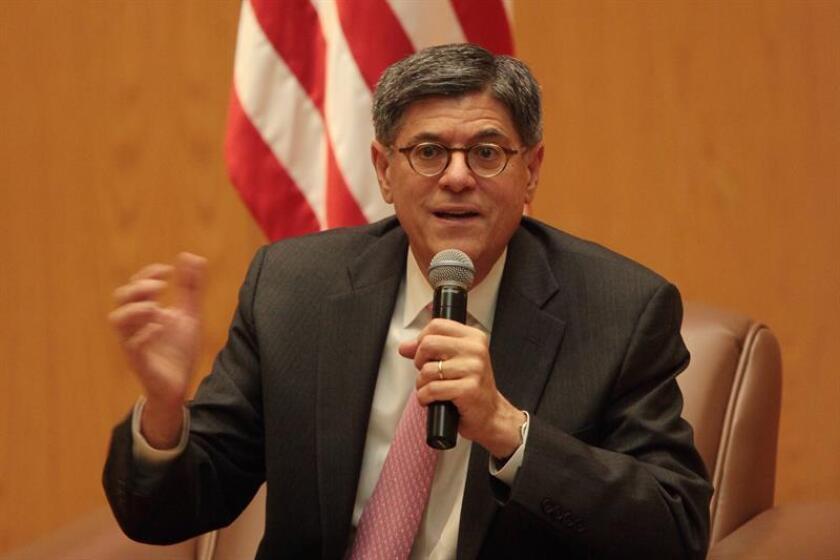 El secretario del Tesoro de Estados Unidos, Jacob Lew. EFE/Archivo