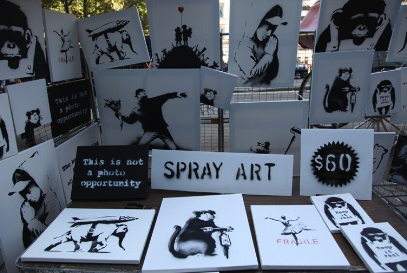 100 Authentic Banksy Artworks 60 Each In N Y Only 7